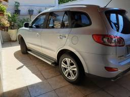 Santa fé 2011 3.5  V6 automática tipttonic 4x4 7 lugares