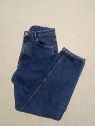 Calça Zara Mom Jeans Fit 36