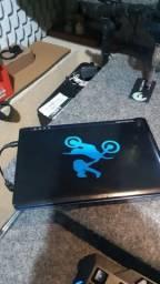Netbook Acer com defeito