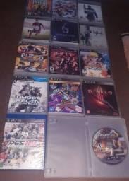 Jogos Playstation 3 troca por outros