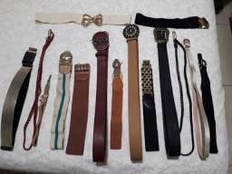 Cintos e bolsas