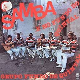 LP Grupo Fundo de Quintal - 1980 - 1º disco