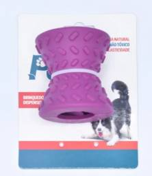 Brinquedo de Borracha Liberador de Ração para Cães Meu Pet