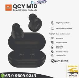 Fones De Ouvido Qcy M10 Estéreo Sem Fio 3d Com Microfone 4H Playback