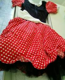 Vestido da Minnie Tam G ( Adulta).