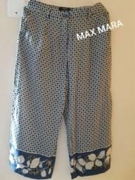 Calça pantacourt MAX MARA