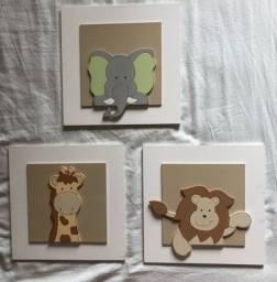 Quadros decoração quarto infantil
