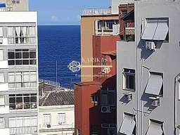 Copacabana, 2 quartos, 1 suíte, Duplex, Vista Mar, Sol Manhã.