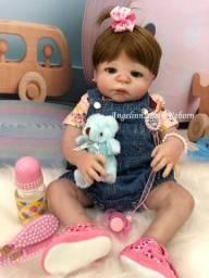 Título do anúncio: Bebê Reborn Martina - Silicone - Pronta Entrega! Com enxoval