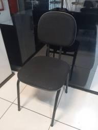 cadeira secretaria serve para igreja casa escritório computador etc