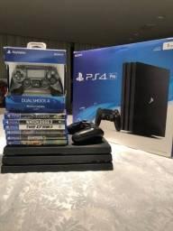 Título do anúncio: PlayStation 4 Pro 1tb com caixa original