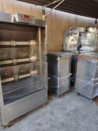 Título do anúncio: Vende se carrinho para trasporte de frango máquina de assar frango