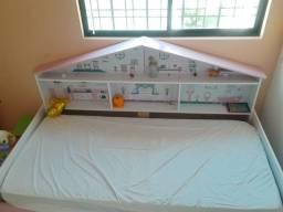 Cama Infantil Casa de Boneca Diversão