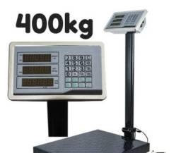 Promoçao balança de plataforma 400kg com bateria