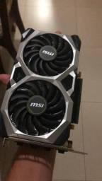 Placa De Vídeo 1660 Super Geforce Oc Edition 6gb Msi