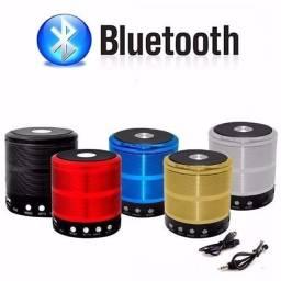Mini Caixa De Som Potente Bluetooth, Rádio Fm