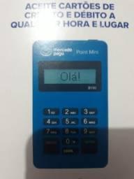 Maquina de passa CARTÃO Point mini da mercado pago