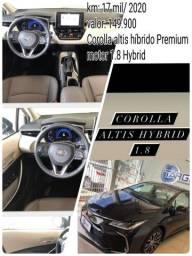 Oferta  imperdível Corolla altis híbrido Premium