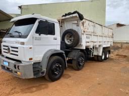 caminhão bitruck 24 220 caçamba
