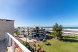 Título do anúncio: Belíssima cobertura duplex, com vista mar, na praia mais charmosa de Torres, com 3 dormitó