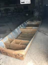 Barco de alumínio de 6 metros - 2002