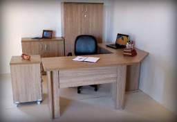 Conjunto móveis escritório direto fabrica Novos Revenda Promoção fecha mês!!