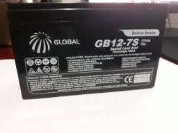 Bateria Selada 12v 7a Nova