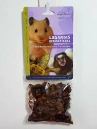 Lagartas desidratadas para hamster Tartaruga e macaco