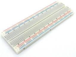 Kit Protoboard 830 furos + Fonte + 65 Jumpers