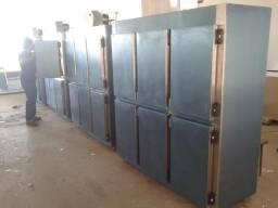 ^}` geladeira 6 portas inox direto de fabrica