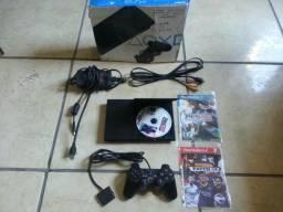 Playstation 2 Destravado PAROU DE LER O CD
