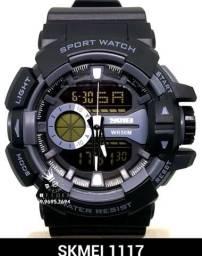 b6eff7d4c54 Relógio esportivo Skmei 1117 Prova D água 5ATM Entrega Gratis  4x s juros