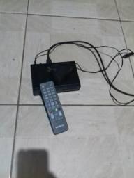 Conversor digital + antena + fio