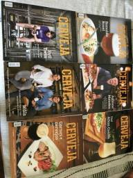 Lote 30 revistas sobre cerveja para colecionadores