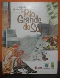 Raridade! Livro ilustrado a História do RS