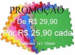 Tatames 1x1 10mm - Super Mega Promoção! R$ 25,90