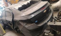 Sucata prisma 2017 veículo baixado no detran