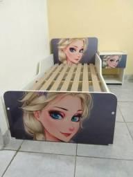 Mini cama Frozen infanto juvenil #LEIA o anuncio