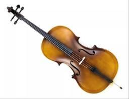 Vendo violoncelo custom Strauss (Leia a descrição)
