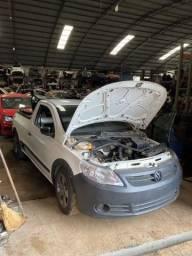 Sucata para retirada de peças- VW Saveiro 2012