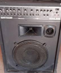 Caixa amplificada wattsom
