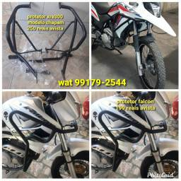 Protetor grades moto Fan titan bros pop xre300 falcon etc.