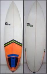 """Prancha 6'2"""" 34 litros / troco por Fun board"""