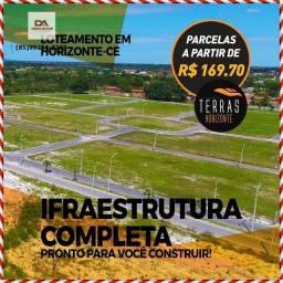 Lotes Terras Horizonte(Infraestrutura completa)%