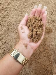 Areia de rio com entrega imediata