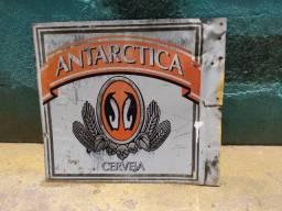 Placa cerveja antártica antigo