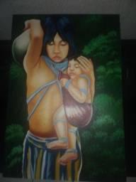 Pintura cultural indígena