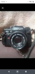 Câmera analógica Zenit para retirada de peças