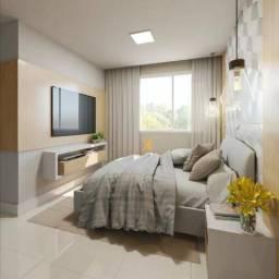 Apartamento com 2 dormitórios sendo 1 suíte à venda, 49 m² por R$ 152.500 - Centro - Euséb