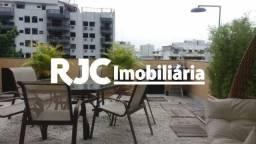Casa de condomínio à venda com 2 dormitórios em Tijuca, Rio de janeiro cod:MBCN20010